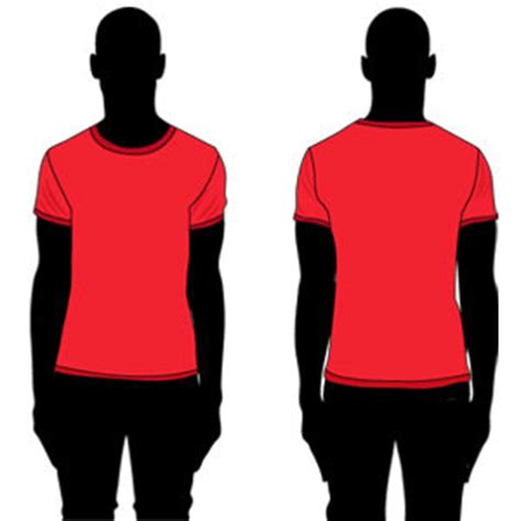 kaos neck neck t shirt template clipart best