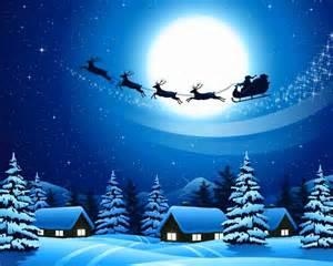 Christmas Night Snow