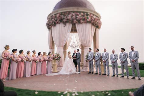 pelican hill resort wedding teresa nick