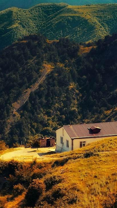 Iphone Fall Nature Wallpapers Mountain Armenia Karabakh