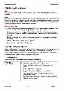 safety plan template download now digital documents direct With health and safety policy template free