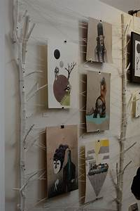 Ideen Fotos Aufhängen : aufh ngung f r fotos bilder und postkarten mit zweigen und schn ren fotos ~ Yasmunasinghe.com Haus und Dekorationen