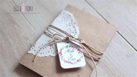 diy shabby chic wedding invitations diy shabby chic wedding invitation partecipazione fai da te shabby 6 youtube