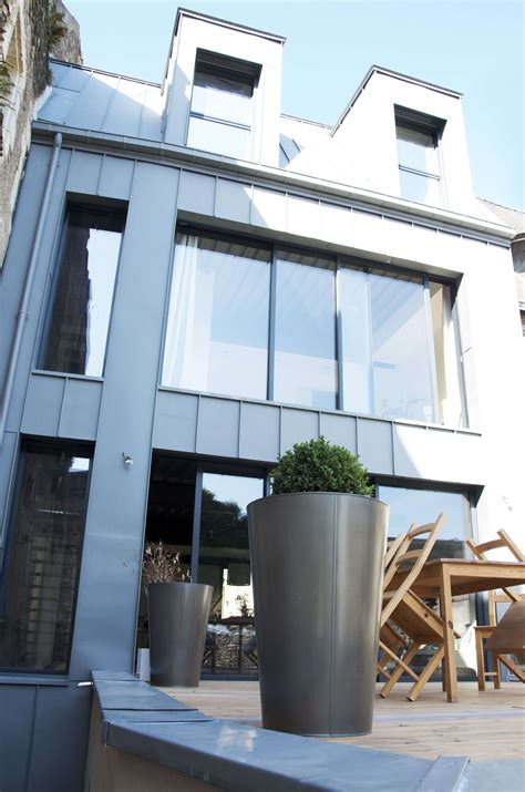 moderne ville de construction de maison moderne angers centre ville
