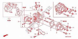 Swirl Control Valve  Diesel  For Honda Cars Civic 2 2