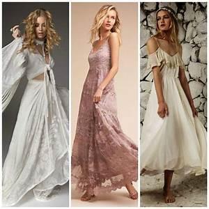 Robe Longue Style Boheme : robes pour mariage boh me chic 20 mod les qui nous font ~ Dallasstarsshop.com Idées de Décoration