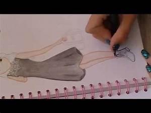 dessin top model ma tenue de rentree youtube With dessiner un modele de robe