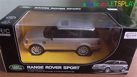 toy range rover radio control car toy range rover sport youtube