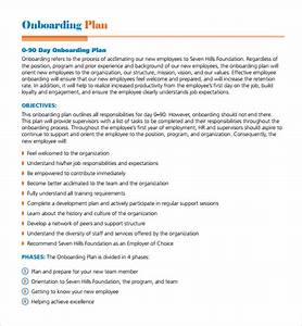 sample onboarding plan template 7 free documents in pdf With employee onboarding documents