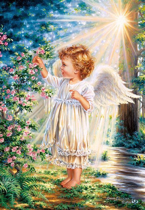 puzzle  angels touch castorland   pieces