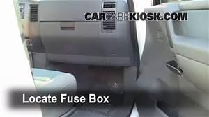 Interior Fuse Box Location  2004-2015 Nissan Titan