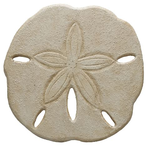 No additional hanging hardware required. Oversized Wooden sand dollar. Primitives by Kathy. Could make from styrofoam | Ocean home decor ...