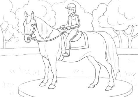 cuisine playmobil dididou coloriage equitation page 4