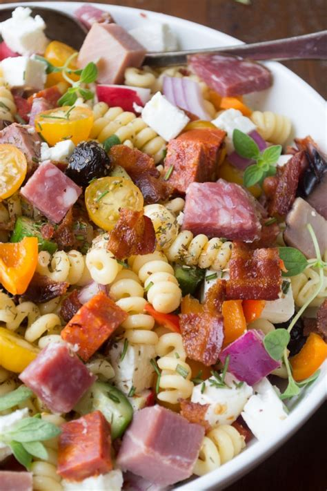different pasta salads meat lovers pasta salad the view from great island