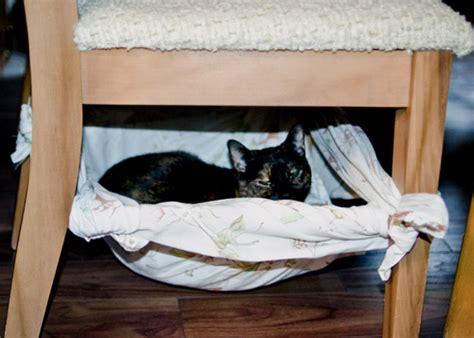 cat hammock diy free easy cat hammock bed diy commatose ca