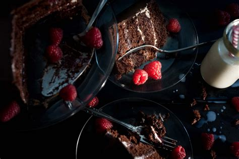 portland food photographer chocolate cake pdx food