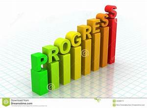 Business Progress Graph Stock Illustration  Illustration