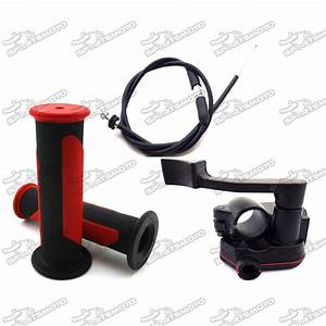 Alloy Thumb Throttle Cable Durable Handle Grips Cable For