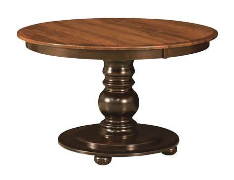 black round pedestal dining table amish round pedestal dining table black traditional