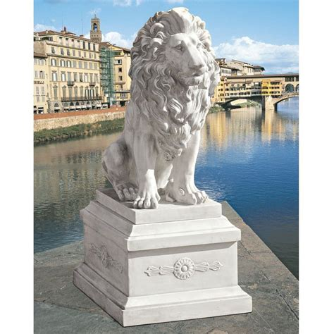 lowes garden statues shop design toscano of florence sentinel 41 in animal