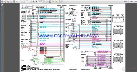 cummins qsm wiring diagram manual auto repair manual