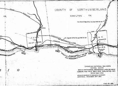 Cnor Cobourg Map Port Hope Line Cnr