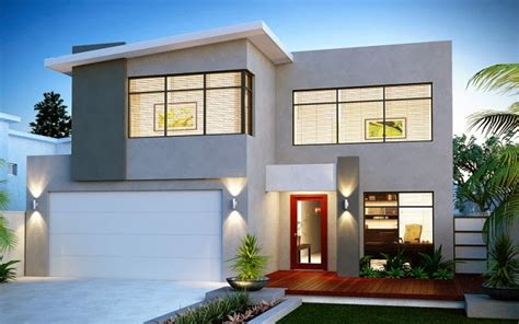 contoh gambar desain rumah minimalis  lantai