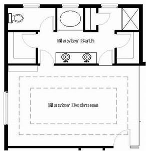 Master bedroom suite floor plan master suite what if for Cost of adding an ensuite bathroom