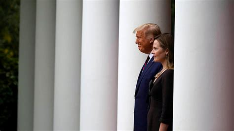 trump taps conservative amy coney barrett  supreme