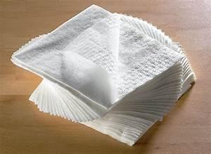 Serviette De Table Blanche : serviette de table tissu blanche pas cher ~ Teatrodelosmanantiales.com Idées de Décoration