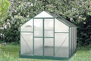 Serre De Jardin Polycarbonate : serre jardin structure alu m serre jardin serre de ~ Dailycaller-alerts.com Idées de Décoration