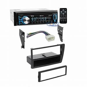 Boss Radio Stereo   Single Din Dash Kit Wire Harness For