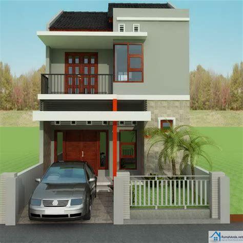 gambar denah rumah minimalis  lantai type  png desain
