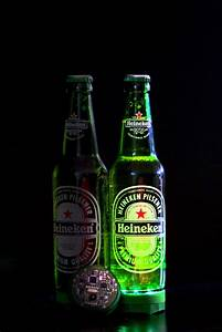 Interactive Heineken Beer Bottles That Light Up To Music ...