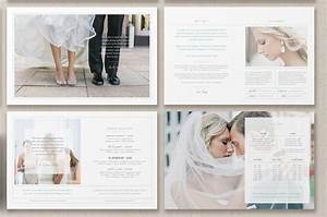 Photographer magazine layout brochure templates for Wedding photography magazine template