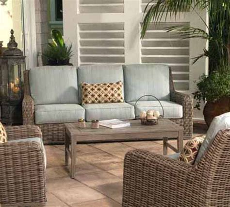 all weather wicker furniture patio furniture the patio