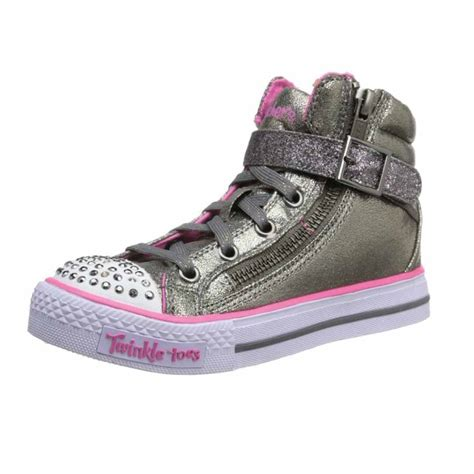 skechers kids light up shoes skechers kids 10405l twinkle toes shuffles heart