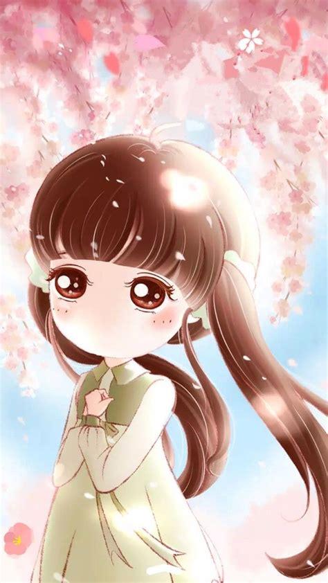 Gambar Gambar Kartun Sedih Anime Korea Animasi Lucu Unik Cloudy