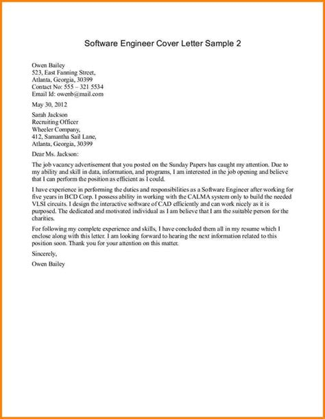 Sle Civil Engineering Cover Letter by Cover Letter Exles For Civil Engineer Exle