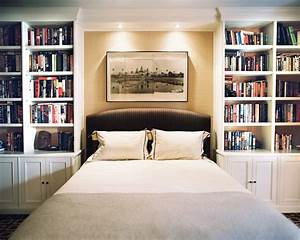 Bookcase, Bed, Photos, Design, Ideas, Remodel, And, Decor