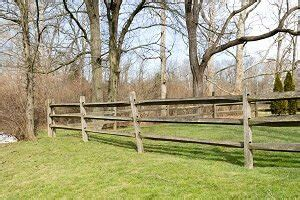 cost  split rail fence post rail fencing prices