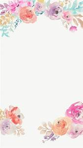 Floral background borders clipart collection