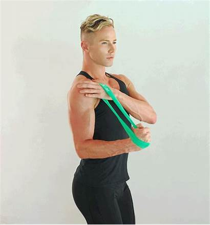 Band Mini Exercises Resistance Workout Arms Bands