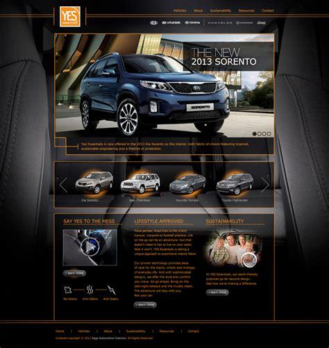 Car Designer Website by Car Interiors Website Design