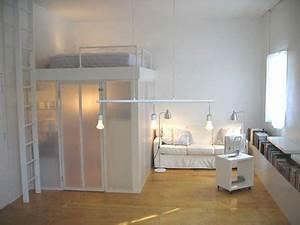 coin chambre dans le salon 40 idees pour l39amenager With chambre a coucher en coin