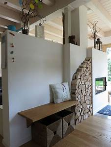 Wohnzimmer Wand Holz : die besten 17 ideen zu kaminofen modern auf pinterest ~ Lizthompson.info Haus und Dekorationen