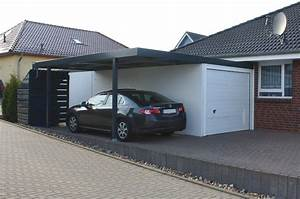 Garage Carport Kombination : carportanbau an betongaragen ~ Markanthonyermac.com Haus und Dekorationen