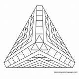 Pyramid Coloring Pages Pyramids Geometry Geometric Mandala Giza Drawing Sacred Adult Colouring Sheets 3d Meditations Abstract Merkaba Printable Getdrawings Dimensional sketch template