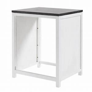 meuble de cuisine en pin recycle pour lave vaisselle l 64 With meuble pour encastrer lave vaisselle
