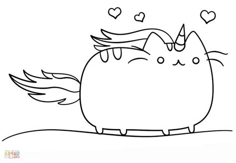 beautiful coloring pages unicorn cake great  clipart